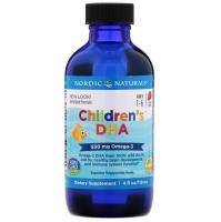 ДГК (Омега-3) для детей, со вкусом клубники, 119 мл