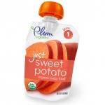 Organic Baby Food just sweet potato, Органическое пюре из сладкого картофеля (батат). Первый прикорм. 85 грамм