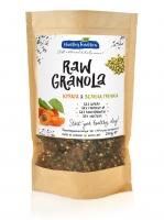 """Healthy Tradition Гранола на завтрак без глютена """"Raw Granоla курага, зеленая гречка, лён"""", 200 г"""