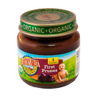 First Prunes Puree, Oрганическое пюре первая слива. Первый прикорм. 71 грамм  фото №1