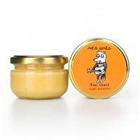 """Мёд натуральный с цедрой апельсина """"Фокс-мажор"""", 150 грамм"""