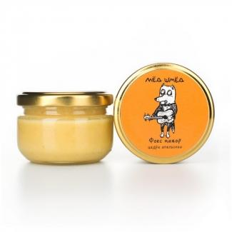 """Мёд натуральный с цедрой апельсина """"Фокс-мажор"""", 150 грамм фото №1"""