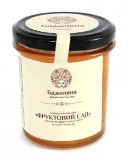"Мед натуральный ""Фруктовый сад"", 400мл фото №1"