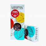 "Фундук в черном шоколаде без сахара ""Leopol"" 50 грамм"