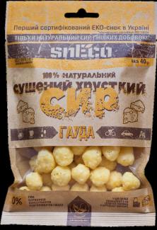 Сушеный сыр snEco «Гауда», 40 грамм фото №1