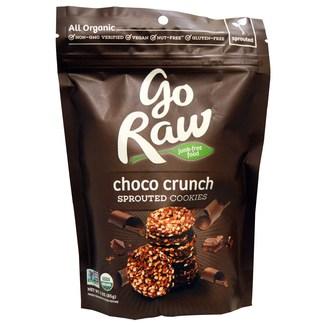 Choco Cranch Sprouted Cookies, Органические шоколадные кранчи с суперфудами. 85 грамм фото №1