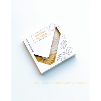 Гречишный шоколад с кукисами без сахара, 70 грамм фото №1