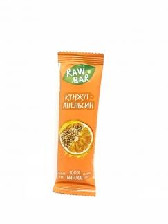 Натуральный батончик Апельсин-кунжут без сахара 35г фото №1