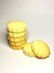 Натуральное песочное печенье с апельсином, без глютена и сахара, 100 грамм