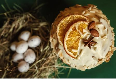 """Паска  """"Апельсиновая""""  без сахара, лактозы и яиц 1кг фото №1"""