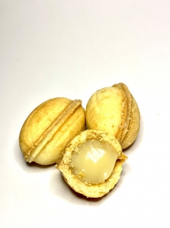 """Натуральное печенье """"Полезный орешек с кокосовой карамелью"""", без глютена и сахара 160 грамм (10шт) фото №1"""