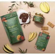 Эксклюзивный набор  3 в 1 от Nature's own factory: гречишный чай с манго + 2 гречишного шоколада с манго + гречишная шоколадная паста с манго фото №1