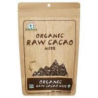 Organic Raw Cacao Nibs,  Органические ядра какао-бобов. 283 грамма.