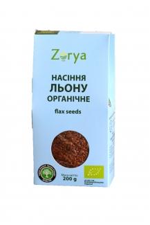 Органические семена льна 200 грамм фото №1