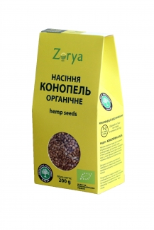 Органические семена конопли 200г фото №1