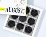 August. Шоколадные конфеты без сахара с бананом и орехом кешью на основе кэроба 120грамм