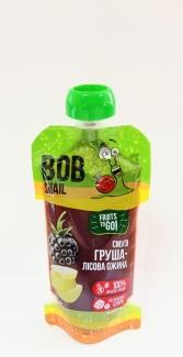 Смузи груша-лесная ежевика, без сахара, 120 грамм фото №1