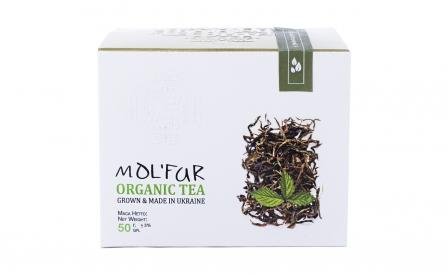 Чай карпатский кипрейный с листьями малины. Органик 50г фото №1