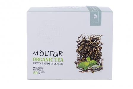 Чай карпатский кипрейный с листьями мяты и мелисы. Органик 50г фото №1