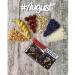 AUGUST. Натуральный цветочный шоколад без сахара с фруктами и орехами 100г фото №2