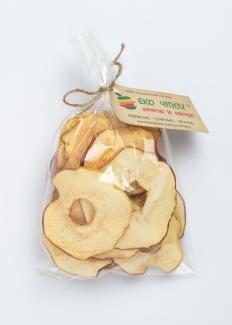 Эко чипсы яблочные, 50 грамм фото №1