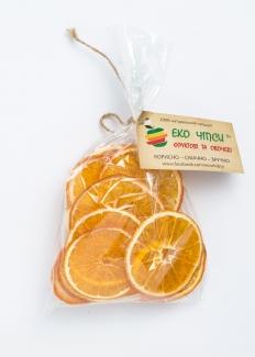 Эко чипсы апельсиновые, 50 грамм фото №1