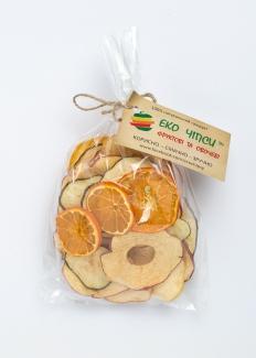 Чипсы яблоко+груша+мандарин, 50 грамм фото №1