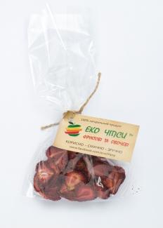 Эко чипсы клубничные, 30 грамм фото №1