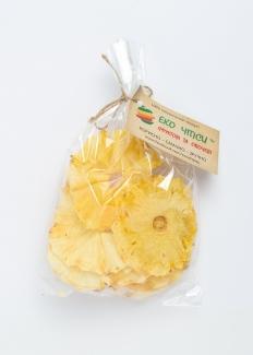 Эко чипсы ананасовые, 50 грамм фото №1