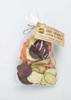 Эко чипсы пастернак+морковь+тыква, 50 грамм фото №1
