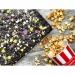 AUGUST. Натуральный шоколад без сахара с соленым попкорном и медовой грушей 100г фото №2