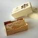 Мед в сотах в деревянной рамке 230 грм  фото №2
