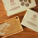 Мед в сотах в деревянной рамке 230 грм  фото №3