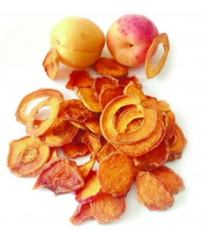 Эко чипсы из абрикоса, 50 грамм фото №1