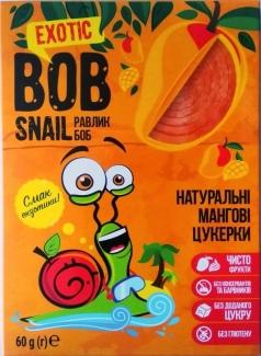 """Натуральные конфеты из манго без сахара """"Улитка Боб"""" 60г фото №1"""