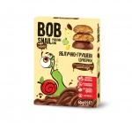 Натуральные яблочно-грушевые конфеты в бельгийском молочном шоколаде 60 г
