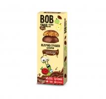 Натуральные яблочно-грушевые конфеты в бельгийском молочном шоколаде 30 грамм