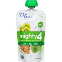 Organic spinach, kivi, barley, greek yougurt, Органическое пюре из шпината, киви, овсянки и йогурта. С 12 месяцев. 113 грамм