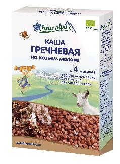 Каша гречневая на козьем молоке с 4 месяцев 200г фото №1