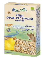 Каша овсяная с грушей молочная с 5 месяцев 200 грамм