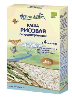 Каша рисовая безмолочная гипоалергенная с 4 месяцев 175г фото №1