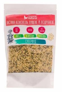 Органические семена конопли, очищенные и дроблённые. Суперфуд. 200 грамм фото №1