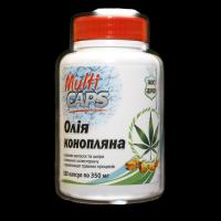 Натуральное конопляное масло в капсулах 180 капсул по 350 мг
