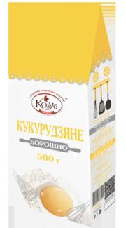 Мука кукурузная натуральная 500 грамм фото №1