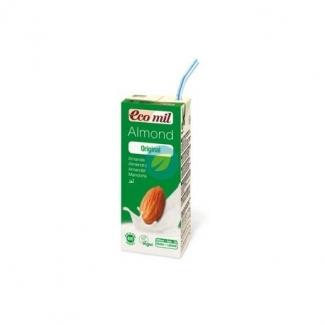 Органическое миндальное молоко с сиропом агавы,200мл фото №1