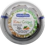 Healthy Tradition Хлебцы из льна «Raw Crisps овощи», 80г