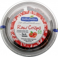 Healthy Tradition Хлебцы из льна «Raw Crisps томаты», 80г