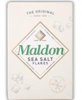 Maldon sea salt flakes (Соль морская хлопьями), 250 грамм
