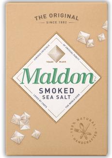 Maldon smoked sea salt (Соль копченая хлопьями ), 125 грамм фото №1