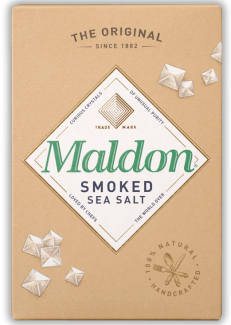 Maldon smoked sea salt (Соль копченая хлопьями ), 125 грамм фото №1